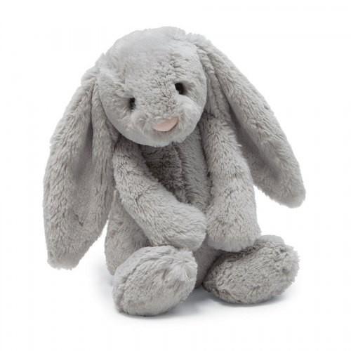Jellycat Bashful Grey Bunny - Medium